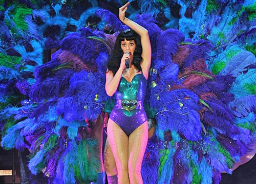 katy perry peacock